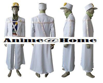 High Quality JoJo's Bizarre Adventure Anime / Manga Jotaro Kujo Cosplay Costume