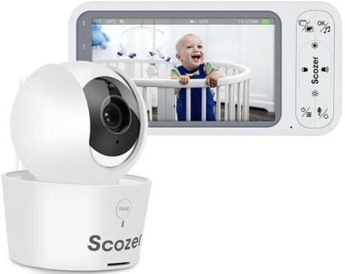 baby monitor with video camera and audio