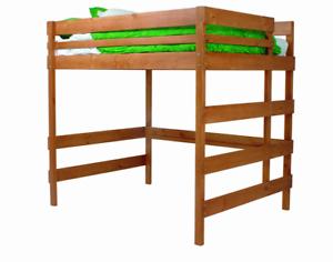 BUNKERS brand Queen size loft bed/bunk bed