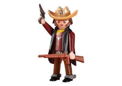 Playmobil Western Oeste Sheriff con Armas, Vaquero con Accesorios, Ref 6277