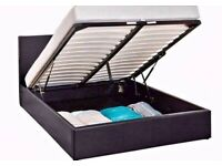 LEATHER OTTOMAN STORAGE BED FOR SALE FASTEST DELIVERY 🖤🖤COLOURS AVAILABLE CLEARANCE SALE