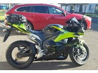 Lovely 2009 CBR600RR in RARE Black and Green Limited Edition