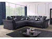 FABRIC SOFAS IN 3+2 OR CORNER AVAILABLE IN FELIX AND DINO HUGE SALE