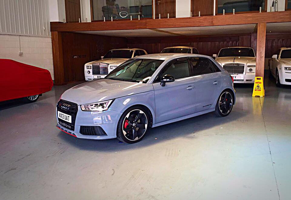 audi a1 s1 replica nardo grey fully loaded buckets px welcome in birmingham west. Black Bedroom Furniture Sets. Home Design Ideas