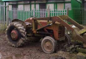 INTERNATIONAL tractor