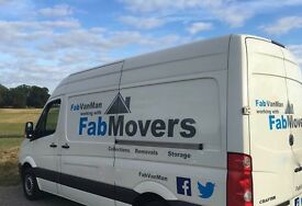2 Man Removals Team from £35 p/hr ALL INC! Luton Van on Request