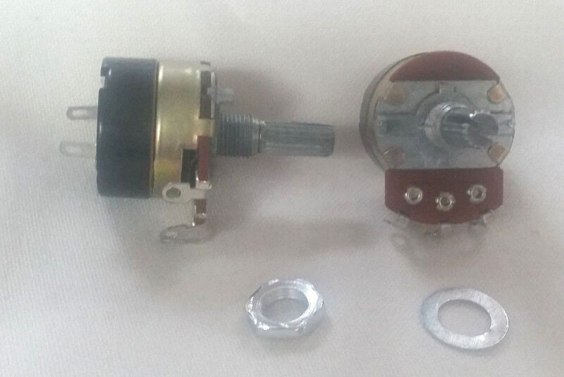 3-Pack Potentiometer 24mm B50k w/ 5A AC on/off Switch USA Free Shipping