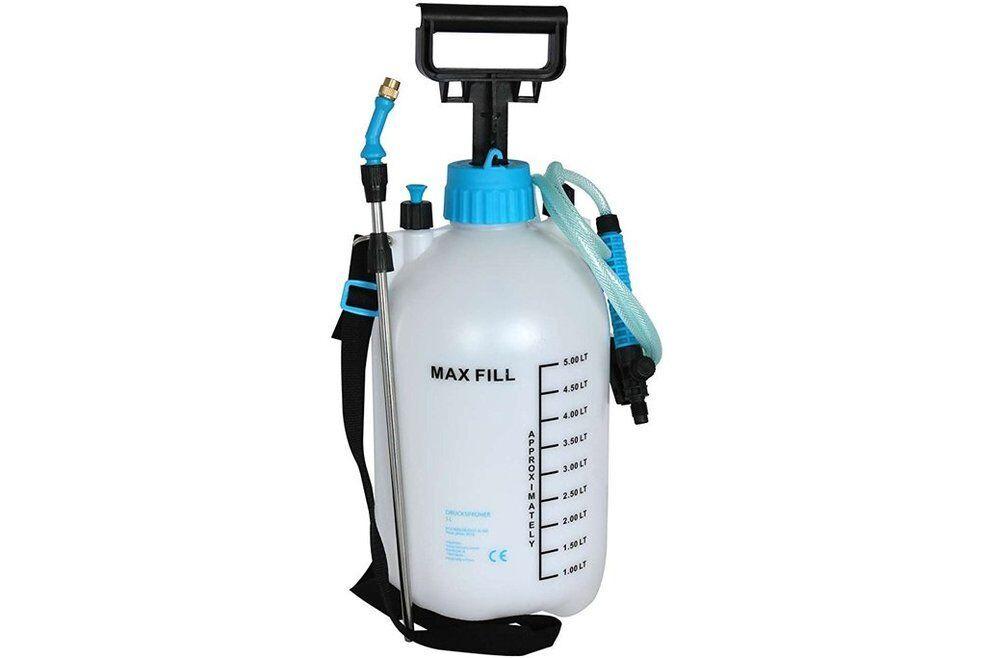 Drucksprüher 5 L - Pumpsprüher Unkraut Spritze Giftspritze Drucksprühgerät - OVP