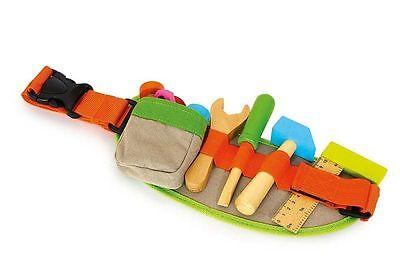 Werkzeuggürtel NEU OVP Holz Kinder Handwerkergürtel Spielzeug Werkzeug