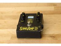 Tech 21 SansAmp Classic - Guitar and Bass Effect Pedal
