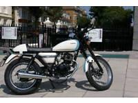 Sinnis cafe 125cc motorbike