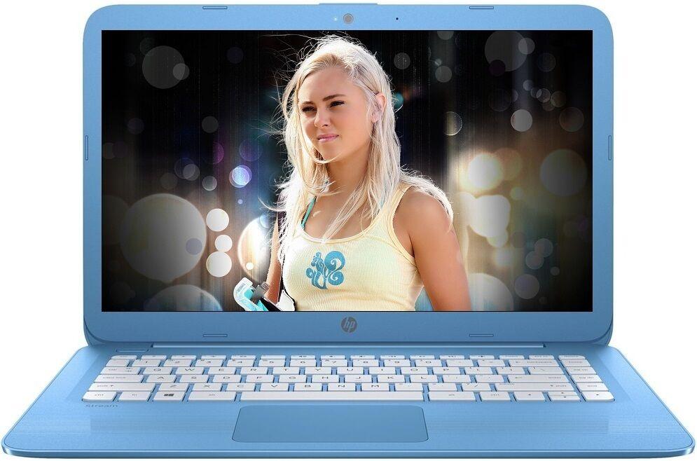 Laptop - HP Stream 14 inch Lightweight Laptop Intel 2.48GHz 4GB 32GB SSD WebCam WiFi HDMI