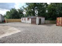 Commercial Unit and Yard for Rent