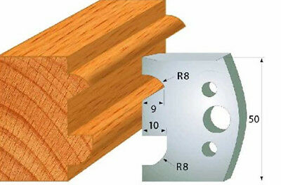 Cmt 690.517 Profiled Knives For Shaper Cutters 1-3132-inch Cutting Length 2pcs