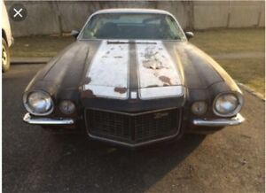 WANTED 1970-81 Camaro Project