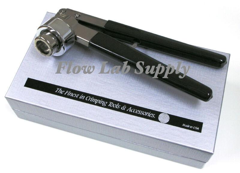 11mm Kebby USA Corrosion Resistant Soft Grip Hand Crimper - Flip Top Seals