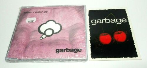 Garbage When I Grow Up MUSH43CDSX UK 3-Track CD Single + Androgyny Sticker 2001