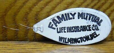 Vintage Advertising Needle Threader - Family Mutual Life Insurance Wilmington DE