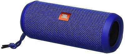 JBL FLIP 3 SPLASHPROOF PORTABLE BLUETOOTH SPEAKER BLUE #FLIP3BLUE NEW IN BOX