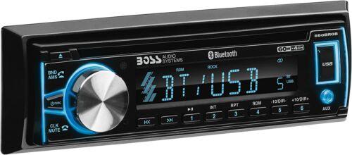 Boss Single DIN Bluetooth In-Dash Car CD/AM/FM Car Stereo Receiver USB/AUX Radio