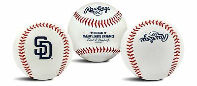 Rawlings San Diego Padres Team Logo Manfred MLB Baseball Aut