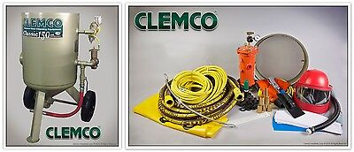 00916 Clemco Portable Blast Machine Classic Style 6 Cu.ft. Package
