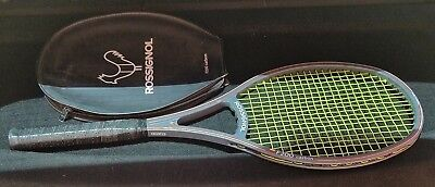 Rossignol F200 Carbon Tennis Racket #2 Made In France Grip 4 3/8 VG!