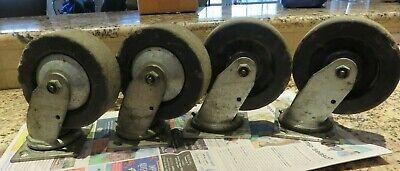 Colson Performa 6 X 2 Industrial Steel Heavy-duty Swivel Casters Set Of 4