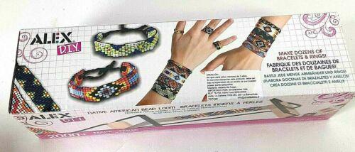 *Alex D.I.Y.  Bead Loom, 2,000+ Beads makes Dozens of Bracelets & Rings *NEW*