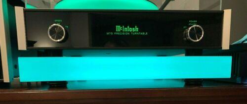 Acrylic Platform for McIntosh MT5 Turntable w Sorbothane Feet & LED Lights