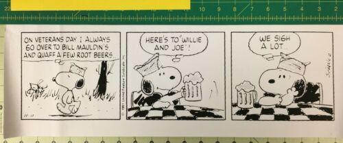 Charles Schulz & Snoopy Celebrate Veteran