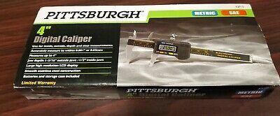 Pittsburgh 4 Digital Caliper - Metric Sae Model 63710