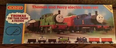 Thomas & Percy Electric Train Set 240Volt See Photos and Description New in Box