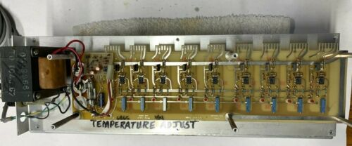 Temperature Controller 9 output wing-lynch Photo Chemical Processing  120vac 10A