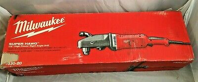 Milwaukee 12 Right Angle Drill 1680-20 13 Amp New In Sealed Box Free Shipping