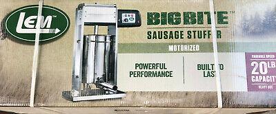 Lem Products 1219 20-pound Motorized Sausage Stuffer W4 Stuffing Tubes