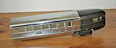 "LIONEL PREWAR 618 ""FLYING YANKEE"" STREAMLINER OBSERVATION CAR 1935-41 EXC COND"