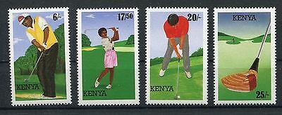 Kenia 617/20 postfrisch / Golf ...........................................1/3040