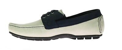 New VERSACE COLLECTION Deer Skin and Suede Leather Driver Shoes 42 - 9