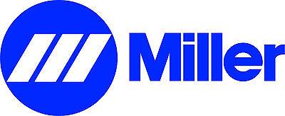Miller Welder Wide Decal Sticker - Set Of 2 - Blue