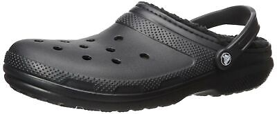 Crocs Men's and Women's Classic Lined Clog | Indoor and Outd