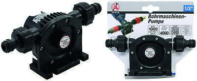 5-tlg Bohrmaschinen Pumpe 1300 L//h Wasser Pumpaufsatz Vorsatzpumpe Gartenpumpe