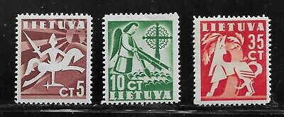 HICK GIRL- MINT LITHUANIA STAMPS     1940 ISSUES       T188
