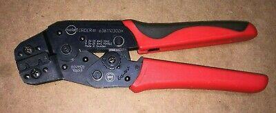 Molex 638110300h Hand Ratcheting Crimp Tool Crimper