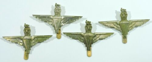 British Army Paratrooper Cap Badge Lot