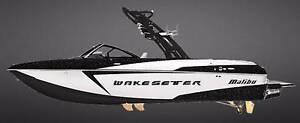 2017 MALIBU WAKESETTER 22 VLX + INDMAR MONSOON 450 W/SALT PACK Boondall Brisbane North East Preview