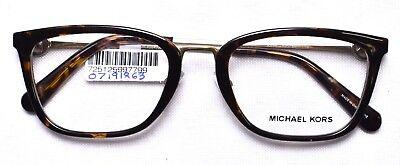 MICHAEL KORS 4054 3336 Captiva Eyeglass/Glasses Frames 52-20-140 Dark Tortoise (Glasses Frames Michael Kors)