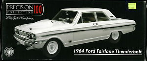 1:18 Die Cast 1964 Ford Thunderbolt White-Precision 100 Collecti