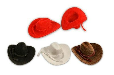 Mini Cowboy Hat Western Wedding Favors Decoration Red Brown Black White 2