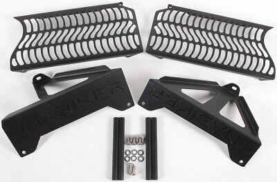 Unabiker Radiator Guards Black For Suzuki DRZ400E/K 00-15 SDRZ2-K